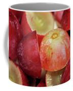 Split Red Grapes Coffee Mug