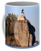 Split Rock Lighthouse Crop 9321 Coffee Mug