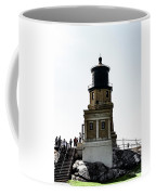 Split Rock Lighthouse Coffee Mug by Sally Sperry