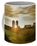 Split Silo Sunset Coffee Mug