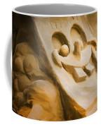Sponge Bob Blue Water Sand Sculpture Coffee Mug