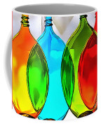 Spoon Bottles-rainbow Theme Coffee Mug