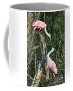 Spoonbill Kiss Coffee Mug