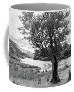 Spot The Woman And Her Dog- Behind The Tree Coffee Mug