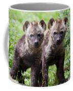Spotted Hyena Cubs I Coffee Mug