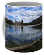 Sprague Lake Cloud Reflection Coffee Mug