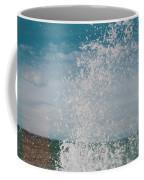 Spray In The Bay Coffee Mug