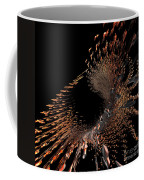 Spray Of Gold Coffee Mug