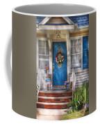 Spring - Door -  A Bit Of Blue  Coffee Mug