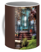 Spring - Door - Apartment Coffee Mug by Mike Savad