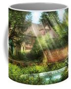 Spring - Garden - The Pool Of Hopes Coffee Mug