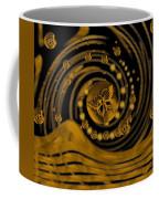 Spring Arrives In Golden Global Style Coffee Mug