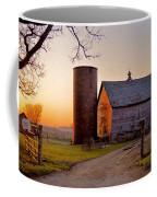 Spring At Birch Barn Coffee Mug
