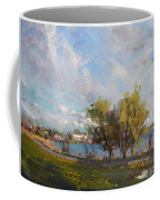 Spring At Gratwick Waterfront Park Coffee Mug