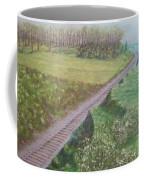 Spring At The Railroad Cut Gettysburg Coffee Mug