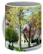 Spring Begins In The Suburbs Coffee Mug