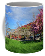 Spring Bloom At Christopher Columbus Park Boston Ma Cherry Blossoms Coffee Mug