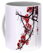 Spring Blossom In Maldives. Flamboyant Tree Coffee Mug