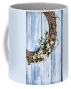 Spring Blossom Wreath Coffee Mug