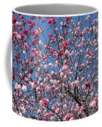 Spring Blossoms Against Blue Sky Coffee Mug