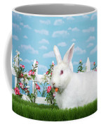 Spring Bunny Loves His Carrots Coffee Mug