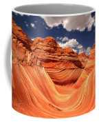 Spring Clouds Over The Wave Coffee Mug