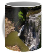 Spring Color At Burgess Lower Falls Coffee Mug