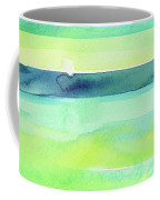 Spring Colors Pattern Horizontal Stripes Coffee Mug