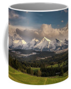 Spring Comes To The High Tatra Mountains In Poland Coffee Mug