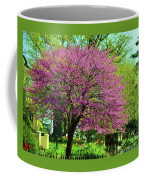 Spring Contrasts At Joslyn Castle Omaha Coffee Mug