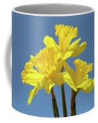 Spring Daffodil Flowers Art Prints Canvas Framed Baslee Troutman Coffee Mug