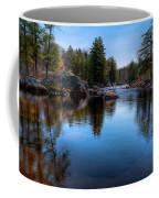 Spring Day On The River Coffee Mug
