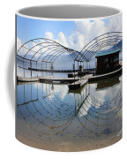 Spring Docks On Priest Lake Coffee Mug