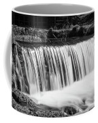 Spring Falls At Hodgson Grayscale Coffee Mug