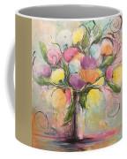 Spring Fling Flowers In A Vase Coffee Mug