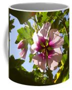 Spring Flower Peeking Out Coffee Mug