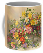 Spring Flowers And Poole Pottery Coffee Mug by Albert Williams