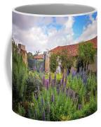 Spring Flowers In The Carmel Mission Garden Coffee Mug