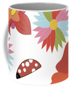 Spring Flowers Pattern Coffee Mug