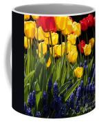 Spring Flowers Square Coffee Mug