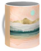 Spring Forest Lake Coffee Mug
