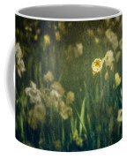 Spring Garden With Narcissus Flowers Coffee Mug