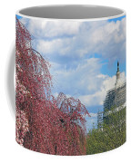 Spring In Washington And Dressed In Scaffolding Coffee Mug