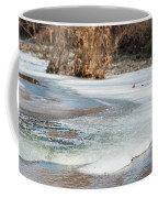 Spring Is Coming. The Ice Melts. Coffee Mug