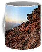 Spring Landscape, Gritstone Rock Formations, Stanage Edge Coffee Mug