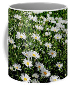 Spring Loyal Love Daisies  Coffee Mug