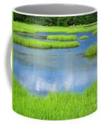 Spring Marsh Grasses Coffee Mug