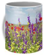 Spring Meadow With Flowers Nature Scene Coffee Mug