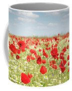 Spring Meadow With Wild Flowers Coffee Mug