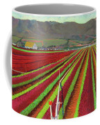 Spring Mix Lettuce Fields Coffee Mug